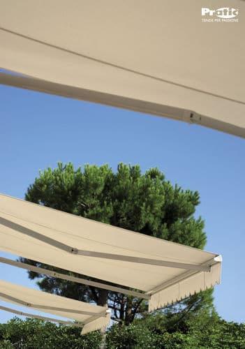Tende Per Esterni Resistenti Al Vento.Tende Da Sole Pratic Flex 300 Pergole Tende Da Sole E Finestre A