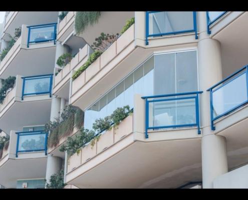 vetrate scorrevoli per balconi